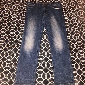 Medium Acid Wash AE Jeans